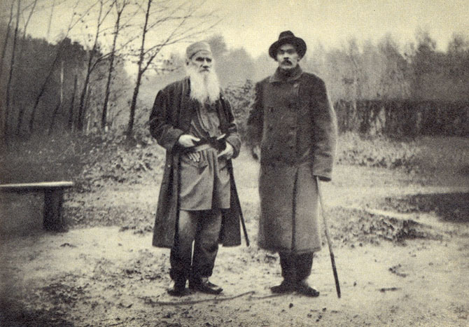 Tolstoy and Gorky