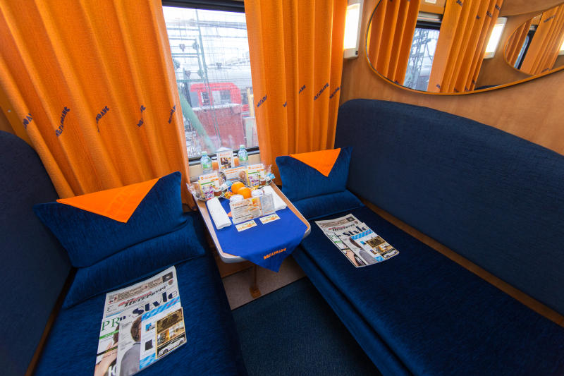 1st class carriage of Megapolis train ©rzd.ru