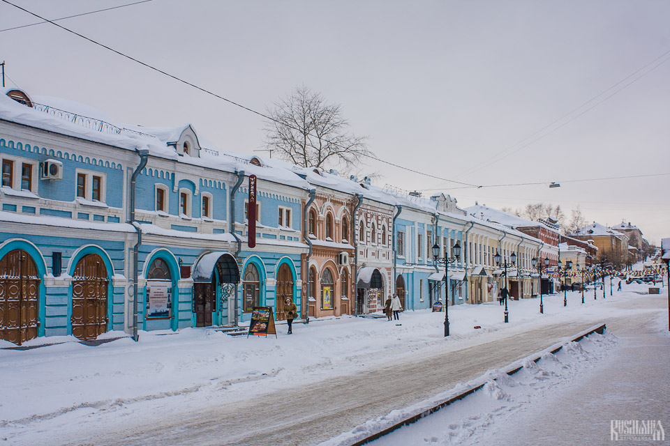 The most Nothern city of Trans-Siberian route - Kirov