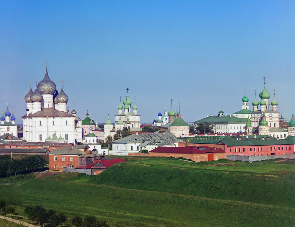 Photograph of the Rostov Kremlin by Sergey Prokudin-Gorsky