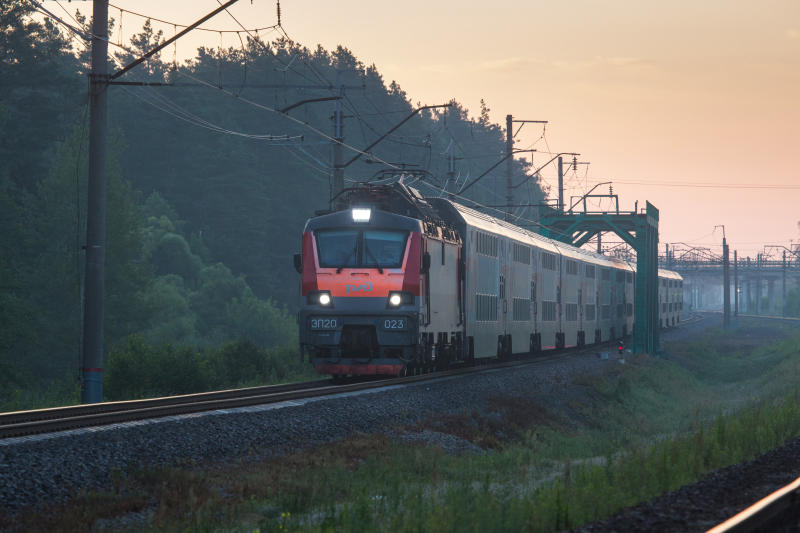 Double-decker train ©rzd.ru