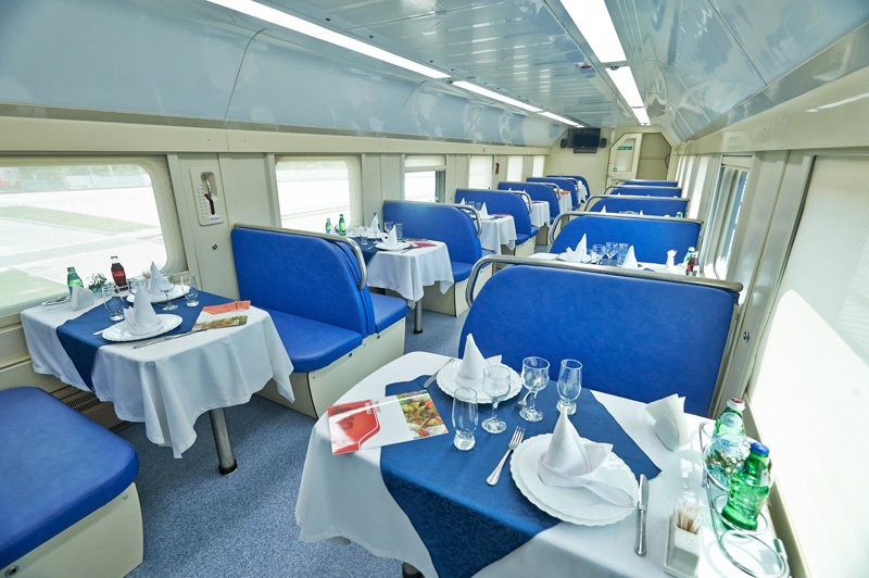 Restaurant carriage ©rzd.ru