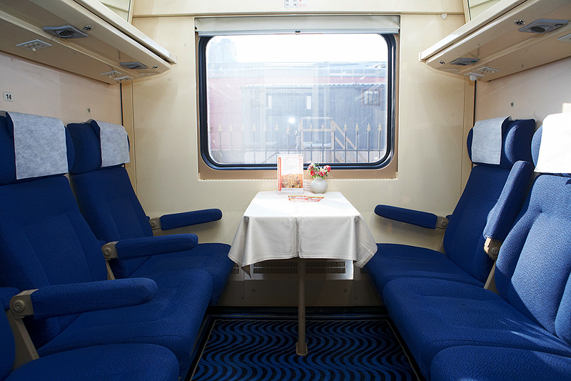 The Nevsky Express train 2nd class ©rzd.ru
