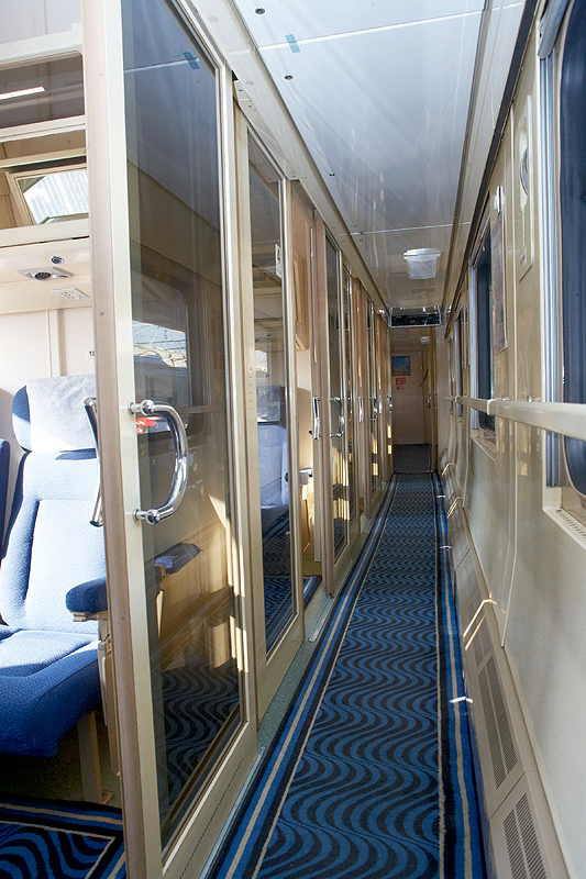 The Nevsky Express train corridor ©rzd.ru