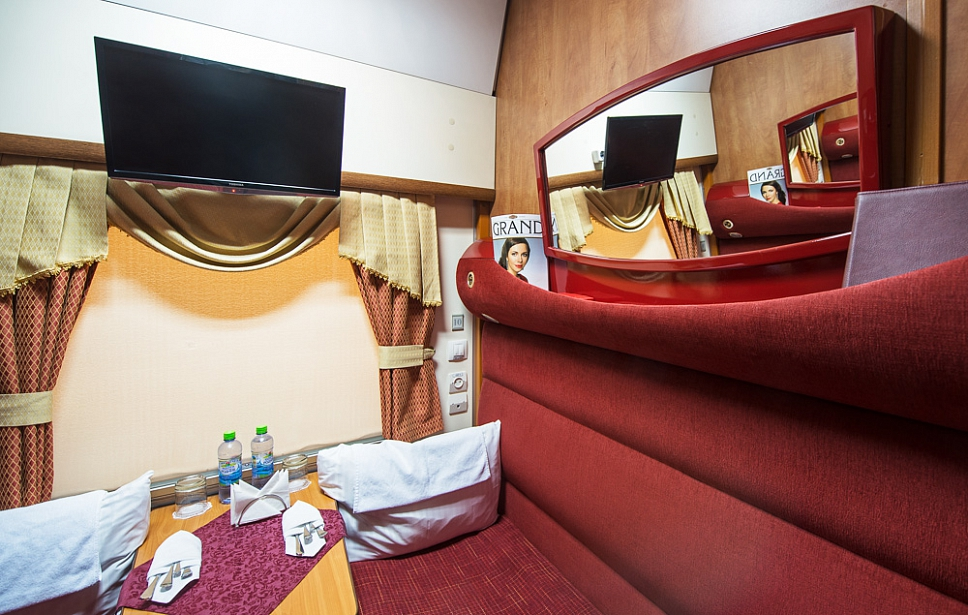 Business class compartment
