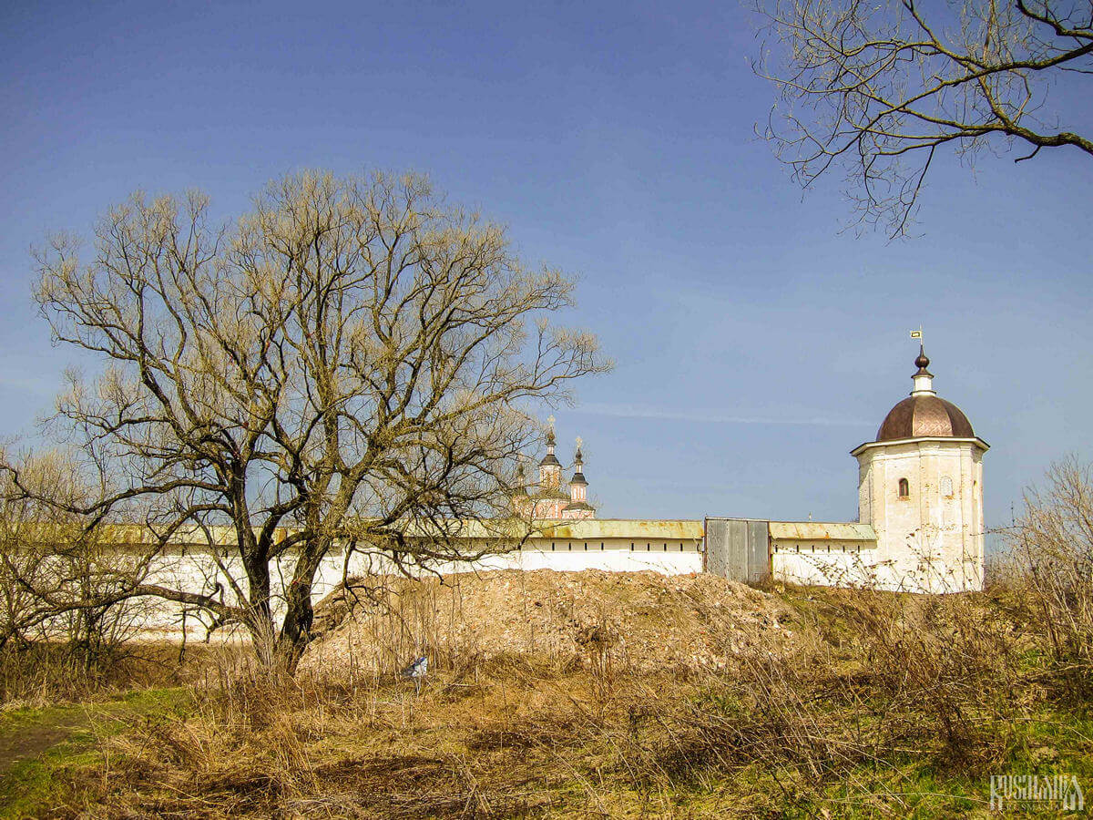 The Svensky Monastery - one of the oldest monasteries in Russia.