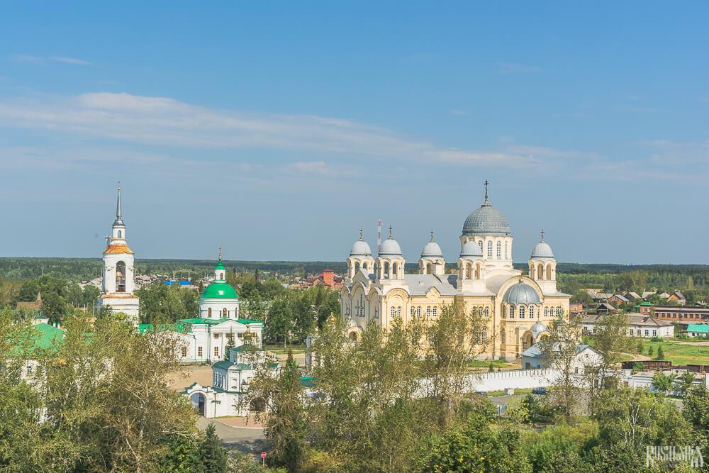 The Svyato-Nikolsky Monastery.