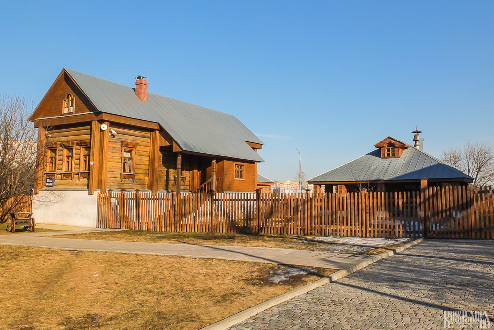 Blacksmith's Yard, Kolomenskoe Estate (March 2014)