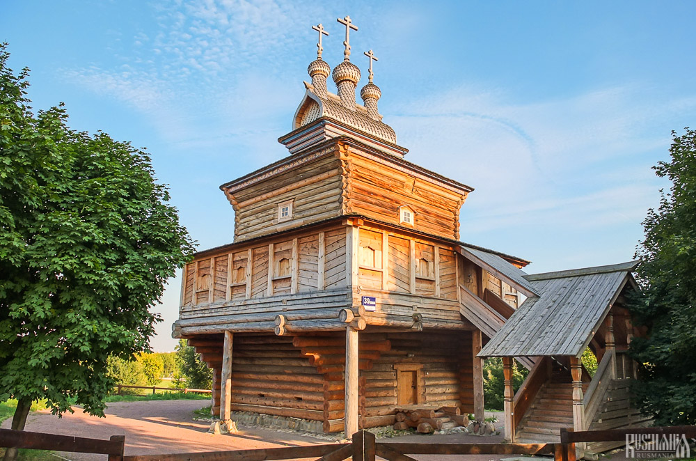 St George's  Wooden Church, Kolomenskoe Estate (August 2013)