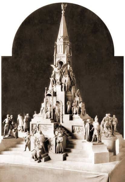 Project of Romanov monument