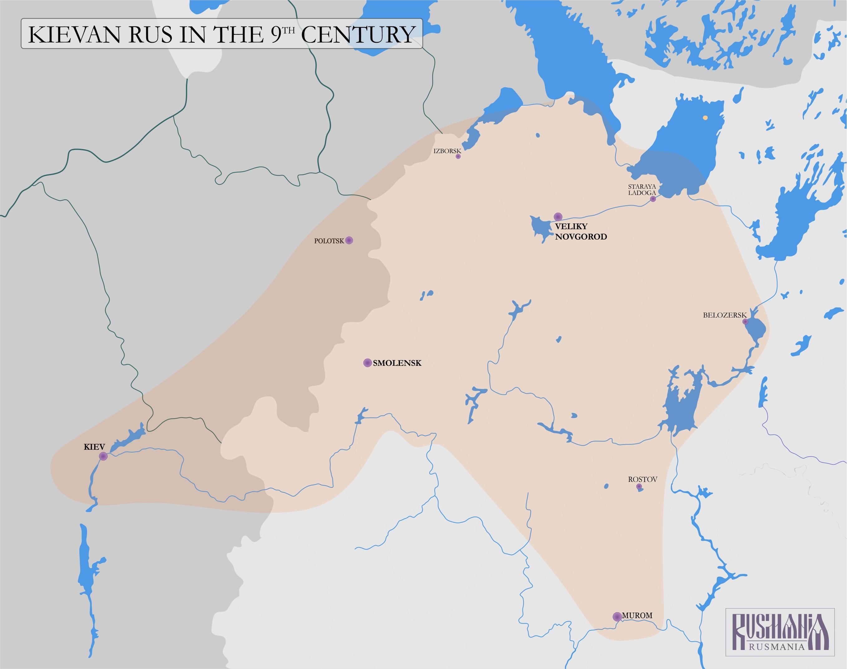 9th Century Russia 9th Century Russia