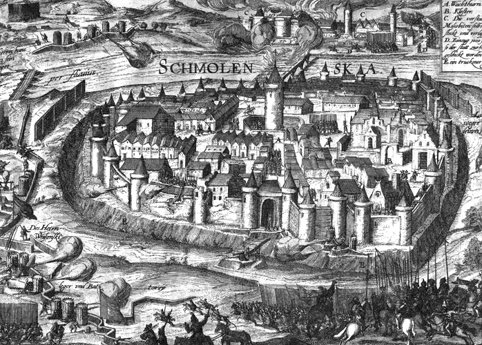 Siege of Smolensk during the Polish-Russian War of 1609-1618