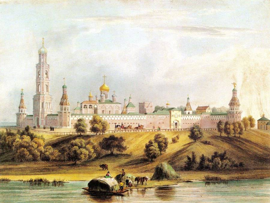 Moscow's Simonov Monastery, which was all but destroyed by the Bolsheviks after the Revolution