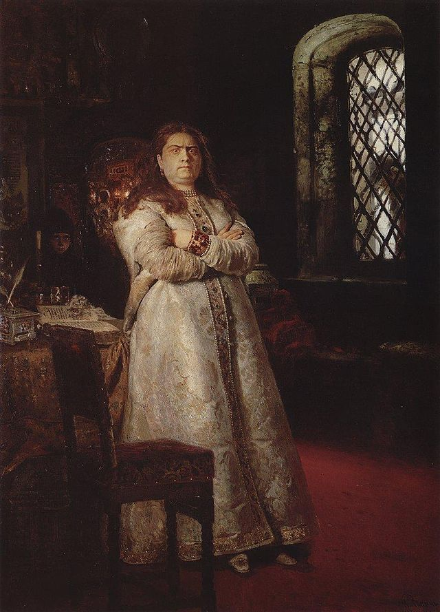 'Sofia at the Novodevichy Convent' by Ilya Repin (1879)