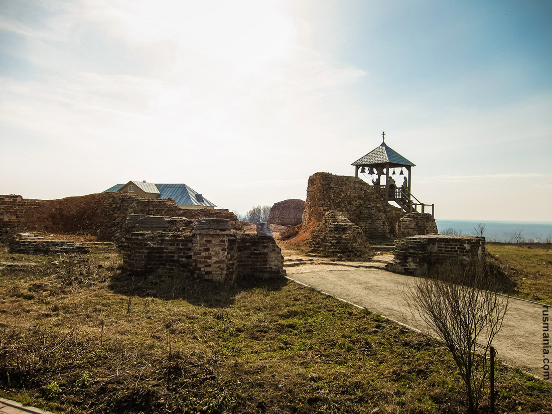 Ruins of the Dormition Cathedral, Svensky Uspensky Monastery