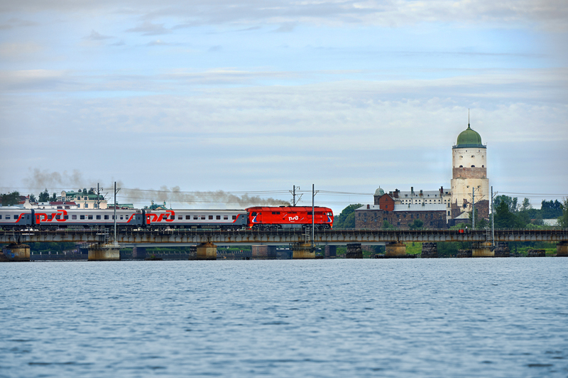 Lev Tolstoy train in Vyborg ©rzd.ru