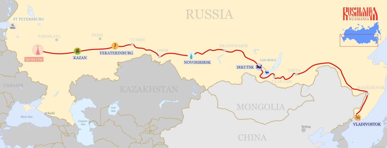 Perm - Kazan: distance and transport links