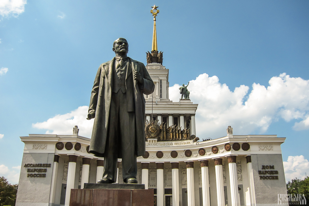 Vladimir Lenin Monument, All-Russian Exhibition Centre (June 2013)