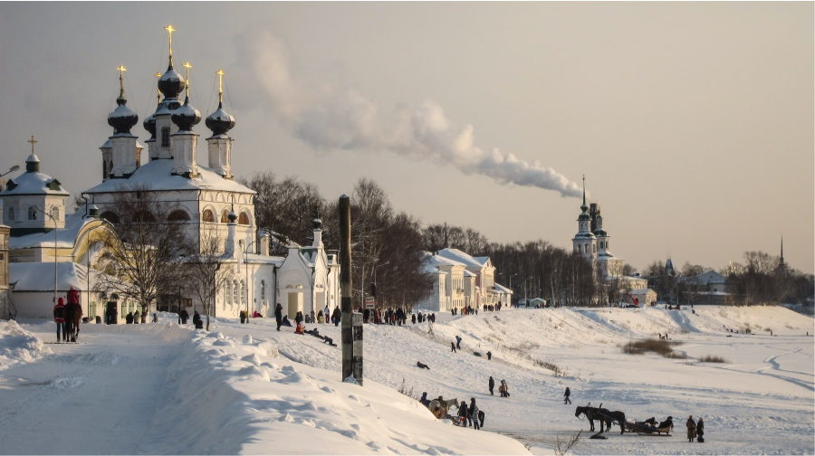 Winter fun in Veliky Ustyug ©rusmania.com