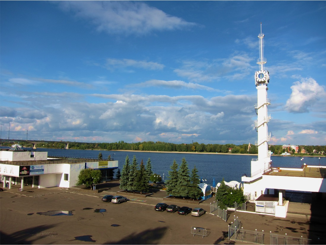Yaroslavl river port