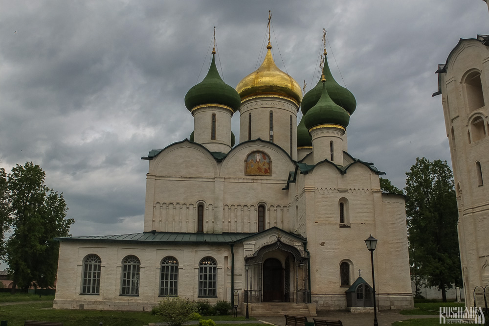 Transfiguration of the Saviour Cathedral, Spaso-Yevfimiev Monastery (May 2013)