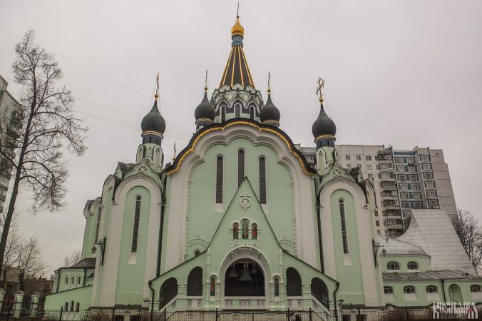 Resurrection of Christ Church in Solkolniki (February 2014)