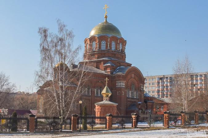 St Sergius of Radonezh' Church (March 2014)