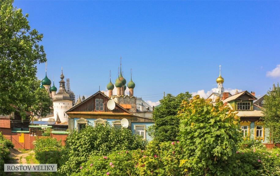 Weekend tour to Rostov Veliky and Yaroslavl | Rusmania