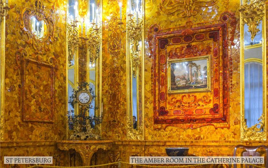 St Petersburg the Amber room